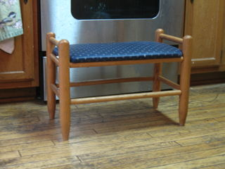 My favorite stool, bought in 1986 when I was 15 years old - at least one person in this house uses it every day
